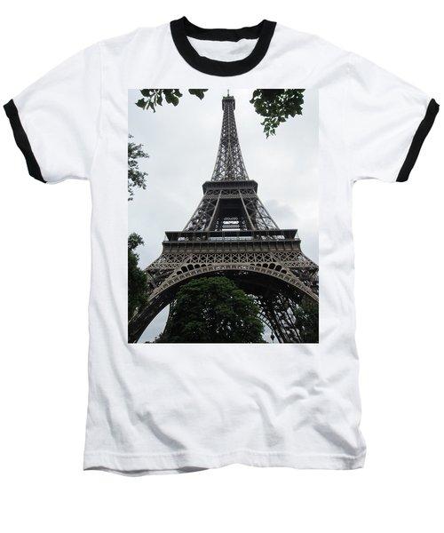 Baseball T-Shirt featuring the photograph Eiffel Tower by Pema Hou