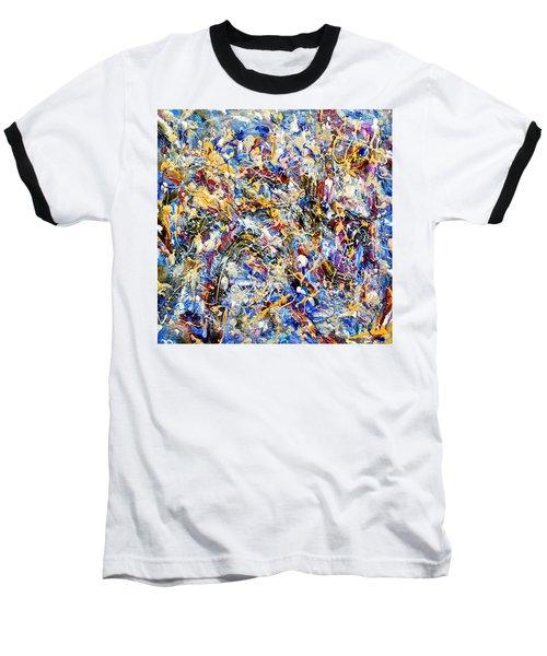 Baseball T-Shirt featuring the painting Eldorado by Dominic Piperata