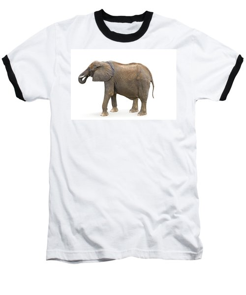 Baseball T-Shirt featuring the photograph Elephant by Charles Beeler