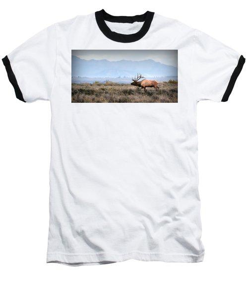 Elk Crossing Baseball T-Shirt