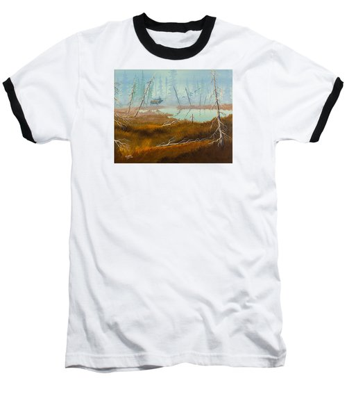 Elk Swamp Baseball T-Shirt