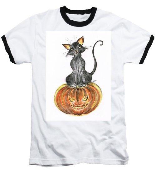 Elma's Pumpkin Baseball T-Shirt