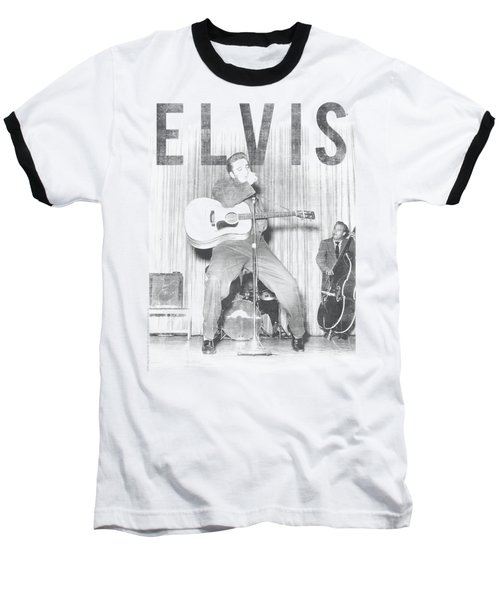 Elvis - With The Band Baseball T-Shirt by Brand A