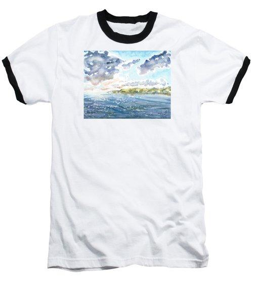 Emerging Sun  Baseball T-Shirt