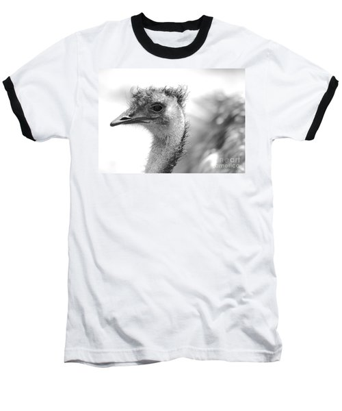 Emu - Black And White Baseball T-Shirt