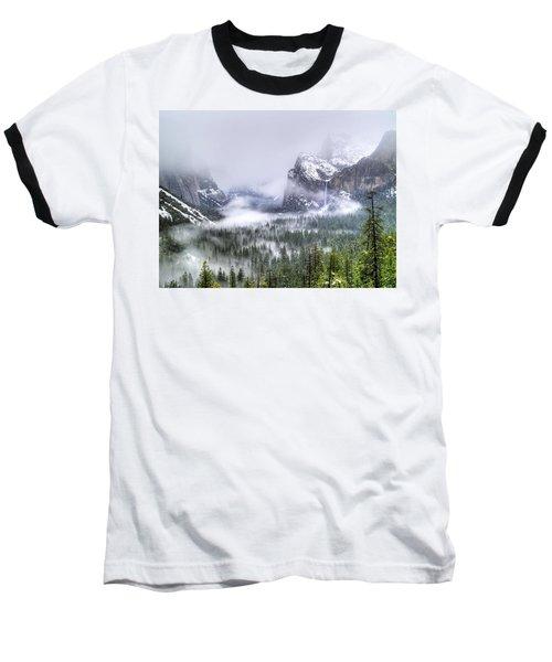Enchanted Valley Baseball T-Shirt by Bill Gallagher