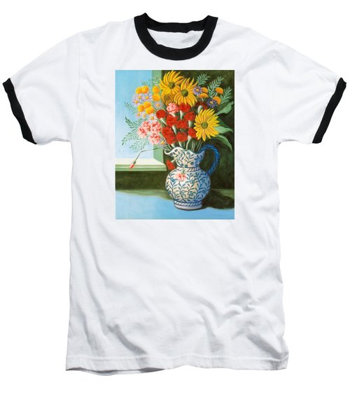 English Bouquet Baseball T-Shirt