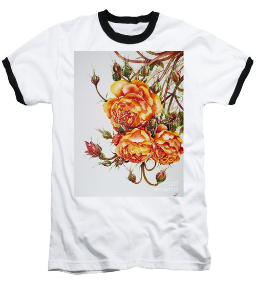 English Roses Baseball T-Shirt