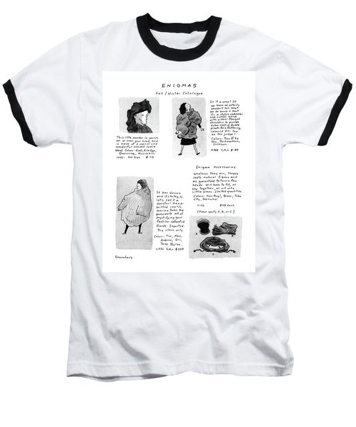Enigmas, Fall/winter Catalogue Baseball T-Shirt