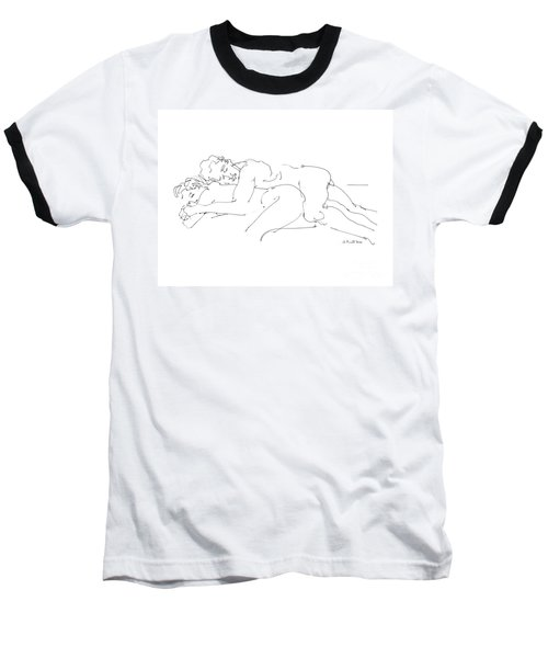 Erotic Art Drawings 2 Baseball T-Shirt