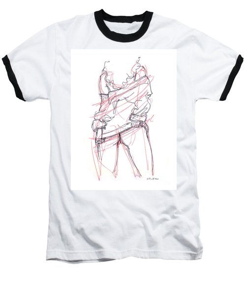 Erotic Art Drawings 6 Baseball T-Shirt
