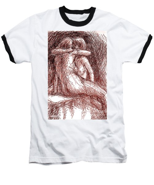 Erotic Drawings 19-2 Baseball T-Shirt