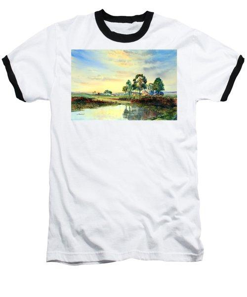 Evening Falls Baseball T-Shirt