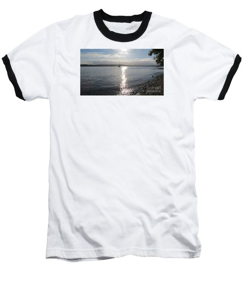Evening Sunset Baseball T-Shirt