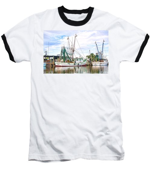 Evening Tide Baseball T-Shirt by Scott Hansen