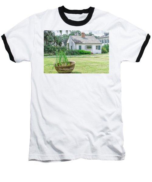 Evergreen Plantation Back Baseball T-Shirt