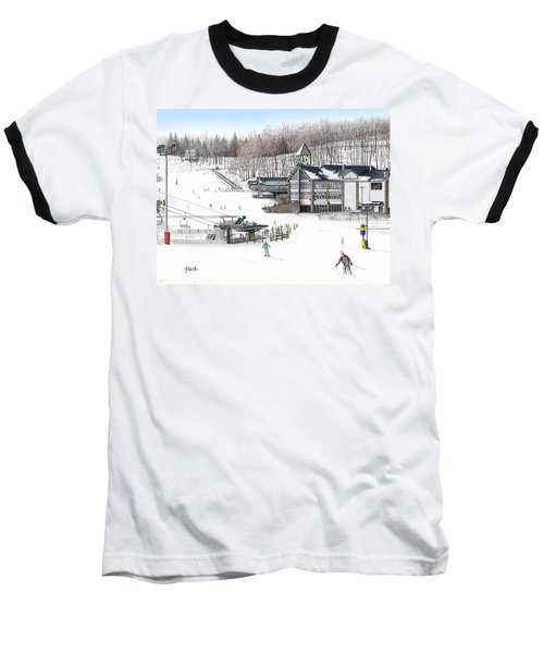 Baseball T-Shirt featuring the painting Experience Hidden Valley by Albert Puskaric