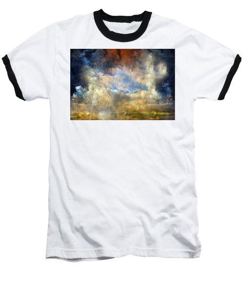 Eye Of The Storm  - Abstract Realism Baseball T-Shirt