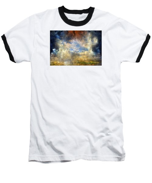 Eye Of The Storm  - Abstract Realism Baseball T-Shirt