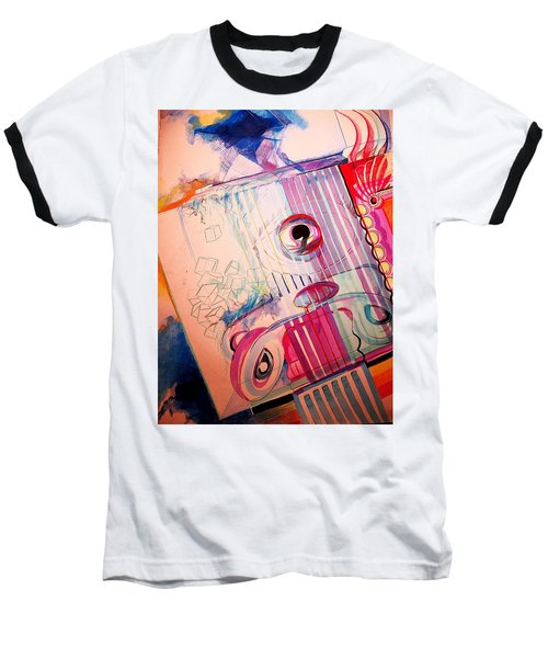 Eye On Art Baseball T-Shirt