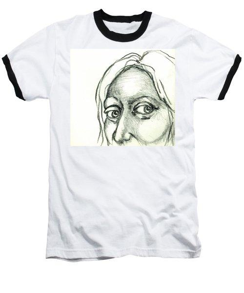 Eyes - The Sketchbook Series Baseball T-Shirt