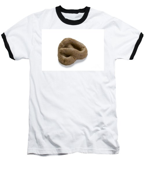 Baseball T-Shirt featuring the photograph Fake Dog Poop by Lee Avison