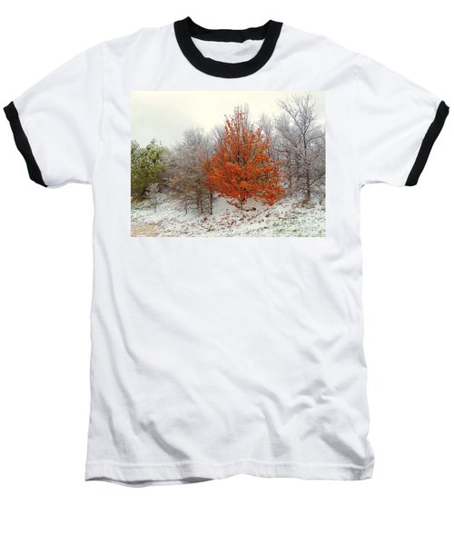 Fall And Winter Baseball T-Shirt