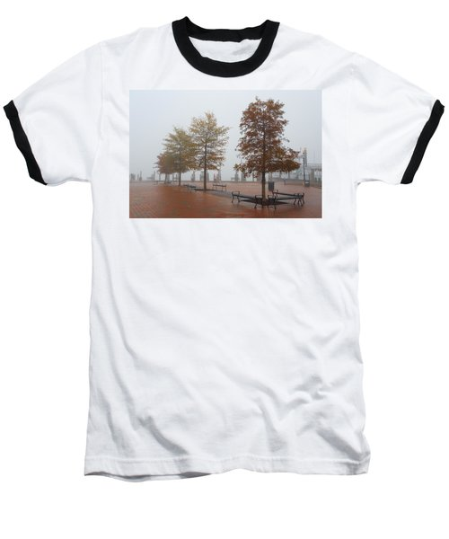 Fall Fog Baseball T-Shirt