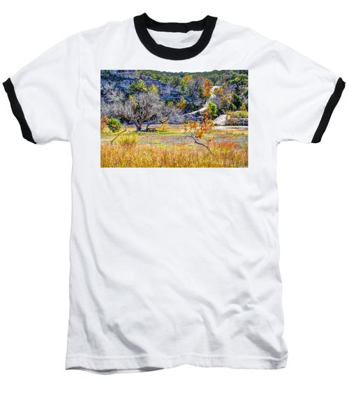 Fall In The Texas Hill Country Baseball T-Shirt