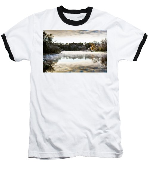 Fall Scene On The Mississippi Baseball T-Shirt