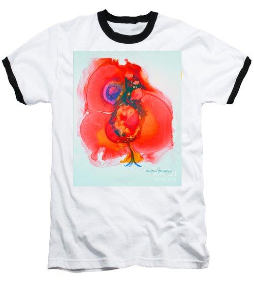 Fandango II Baseball T-Shirt by Joan Hartenstein