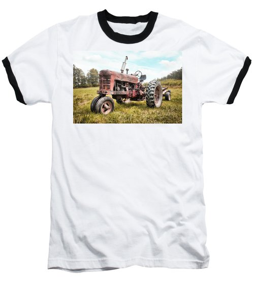 Farmall Tractor Dream - Farm Machinary - Industrial Decor Baseball T-Shirt