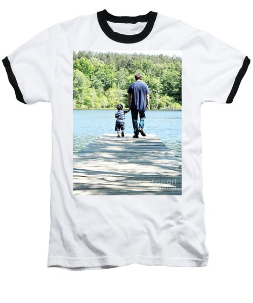 Father And Son Baseball T-Shirt