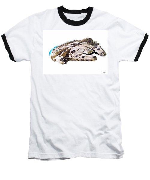 Millenium Falcon Baseball T-Shirt