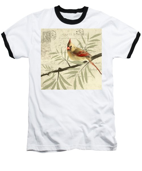 Female Symphony Baseball T-Shirt by Lourry Legarde