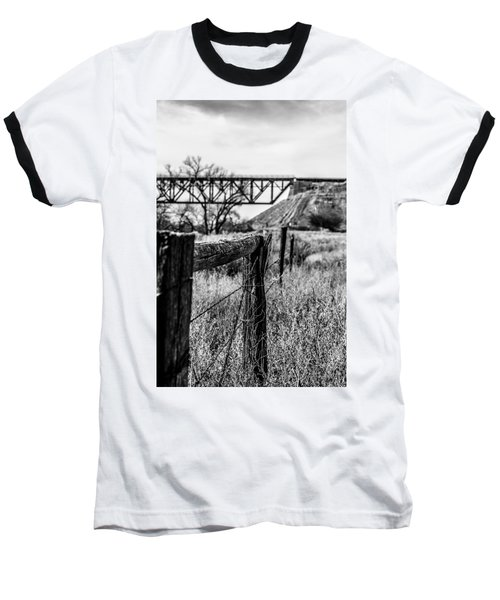 Fence Line Baseball T-Shirt
