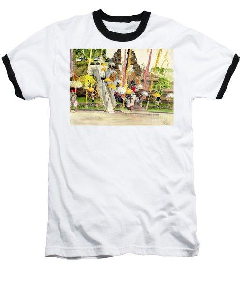 Festival Hindu Ceremony Baseball T-Shirt by Melly Terpening