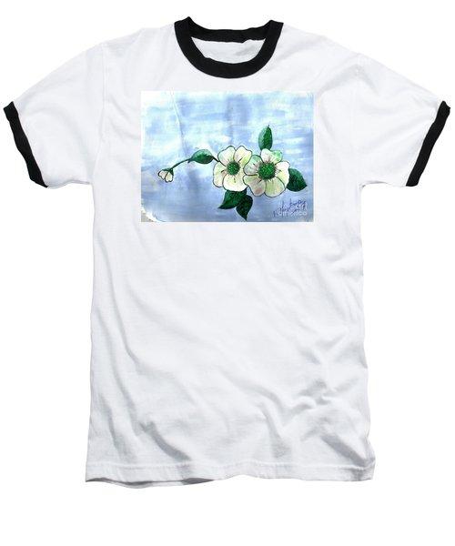 Field Flowers Baseball T-Shirt by Francine Heykoop