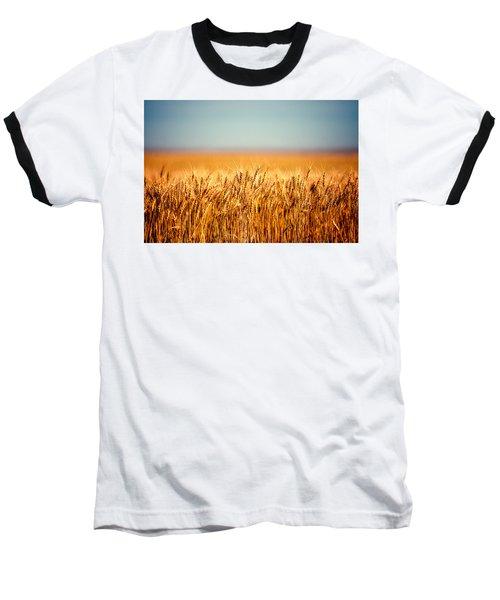 Field Of Wheat Baseball T-Shirt