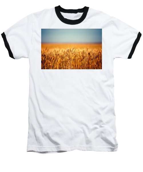 Field Of Wheat Baseball T-Shirt