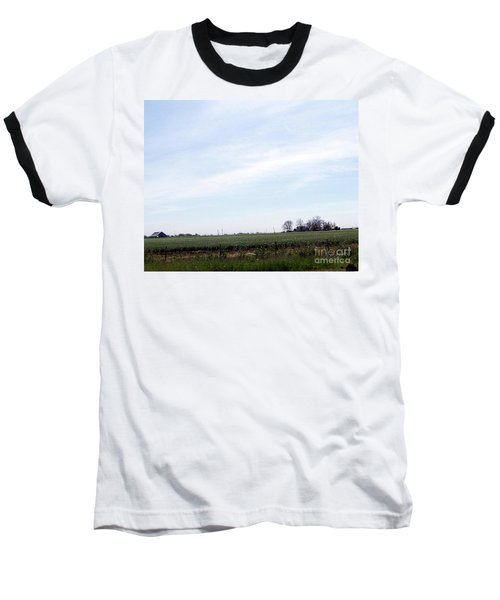 Baseball T-Shirt featuring the photograph Fields Of Source by Bobbee Rickard
