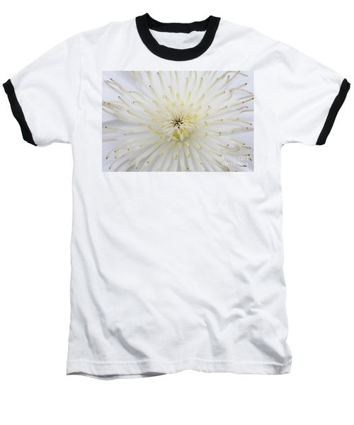 Fine Art - White Baseball T-Shirt
