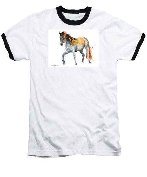 Da110 Fire Mane By Daniel Adams Baseball T-Shirt