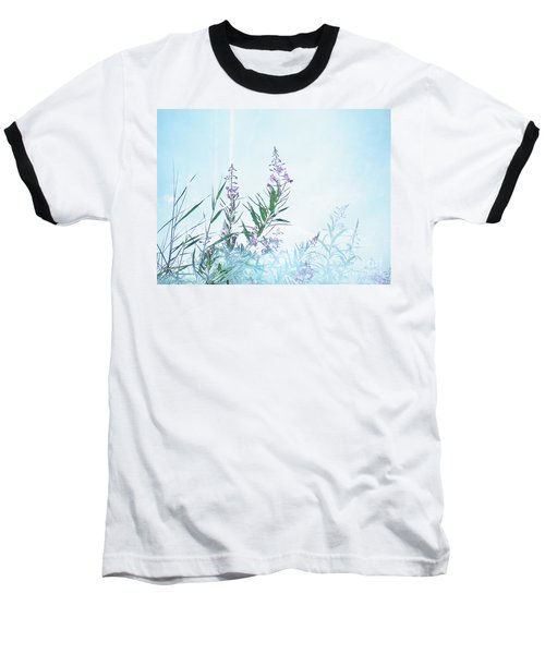 Fireweed Number Two Baseball T-Shirt by Brian Boyle