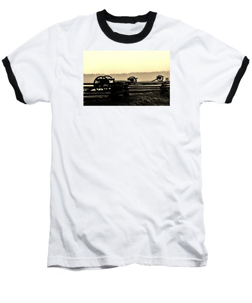 Firing Line Baseball T-Shirt by Daniel Thompson