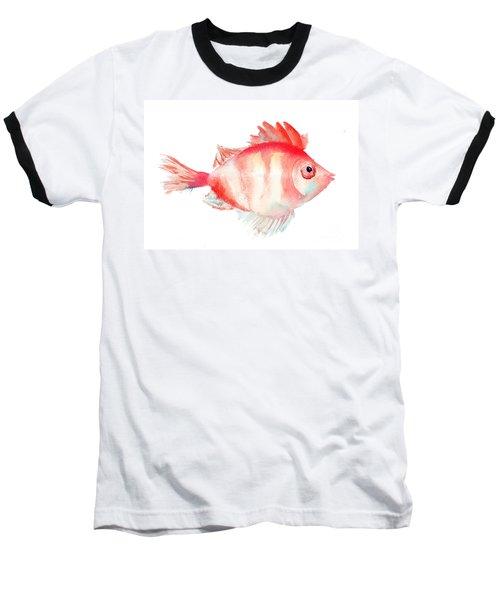 Fish Baseball T-Shirt