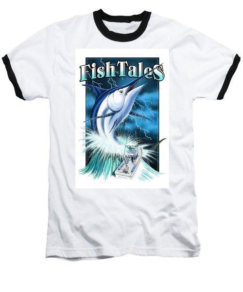 Fish Tales Baseball T-Shirt