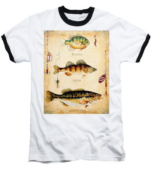 Fish Trio-c Baseball T-Shirt