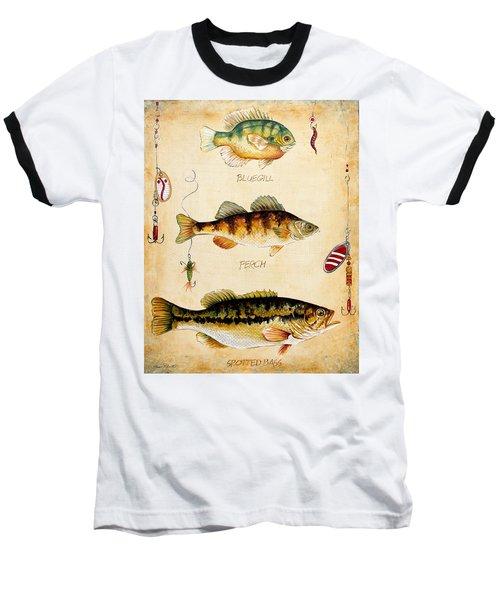 Fish Trio-c Baseball T-Shirt