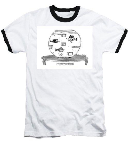 Fishes And Loaves Baseball T-Shirt